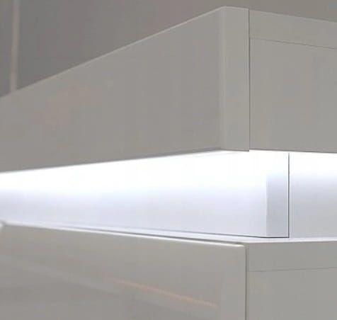 Right Bedside Cabinet IRMA IM18 White Gloss BOGFRAN