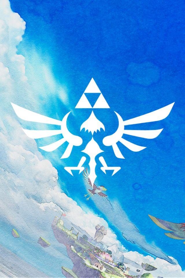 Legend Of Zelda Triforce Nintendo Zelda Skyward Legend Of Zelda Legend Of Zelda Breath