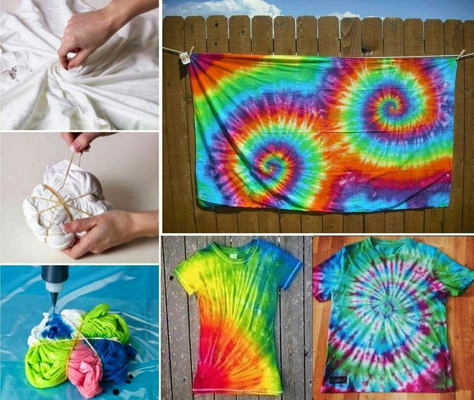 31b24474730 ... ideas and projeccts to have some fun. Tie dye spiral