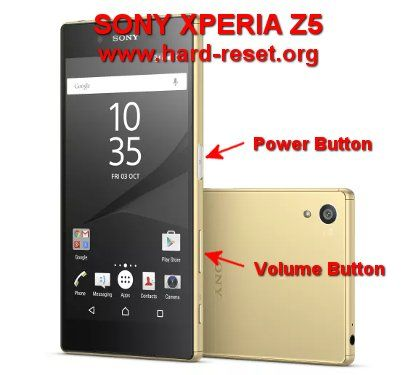 Hard Reset SONY XPERIA Z5 (E6603 / E6653 / E6633 / E6683