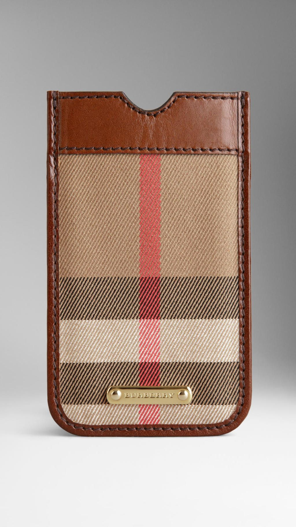 finest selection 6cb36 8fe8c Burberry - Brown House Check Iphone 5 Case | C - Burberry ...