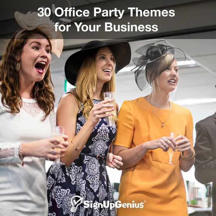 30 Office Party Themes for Your Business. Use these tips and ideas to plan your next work celebration!