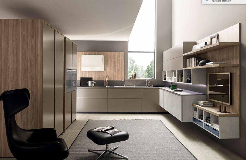 Cucina modello #Volumia. Per chi preferice un #look #minimale e ...