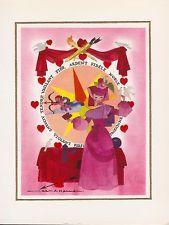 Jean Adrien MERCIER carte postale la loterie du coeur éditions marcus