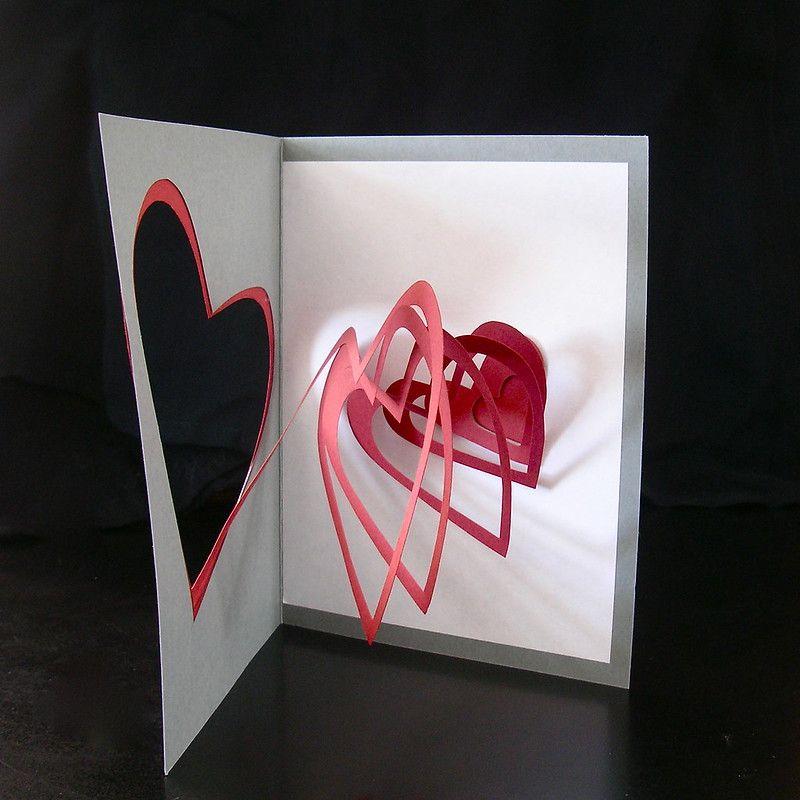 Creator S Joy Simple Printable Pop Up Valentine Card Heart Pop Up Card Pop Up Card Templates Pop Up Valentine Cards