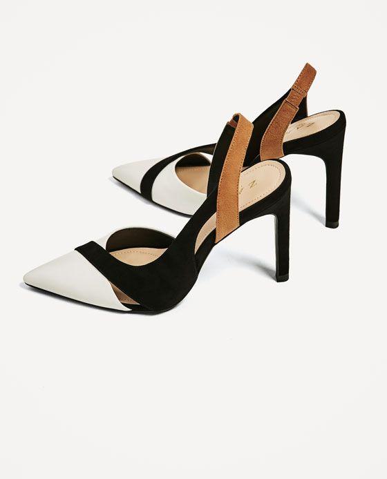 7 Tacón Combinado Jewelry Zapato De Shoes Zara Imagen FT4xwfqf
