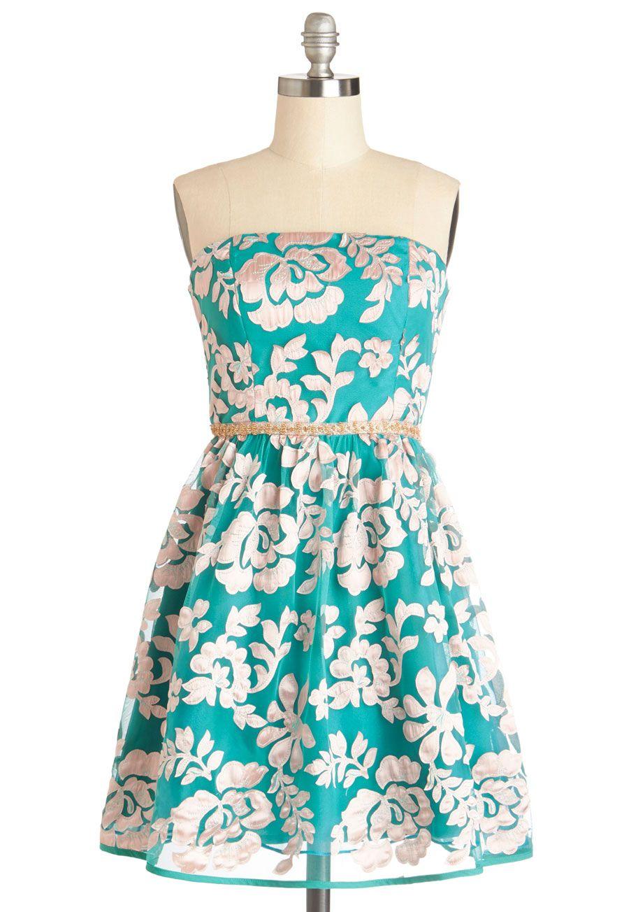 Twirl Next Door Dress | Mod Retro Vintage Dresses | ModCloth.com ...
