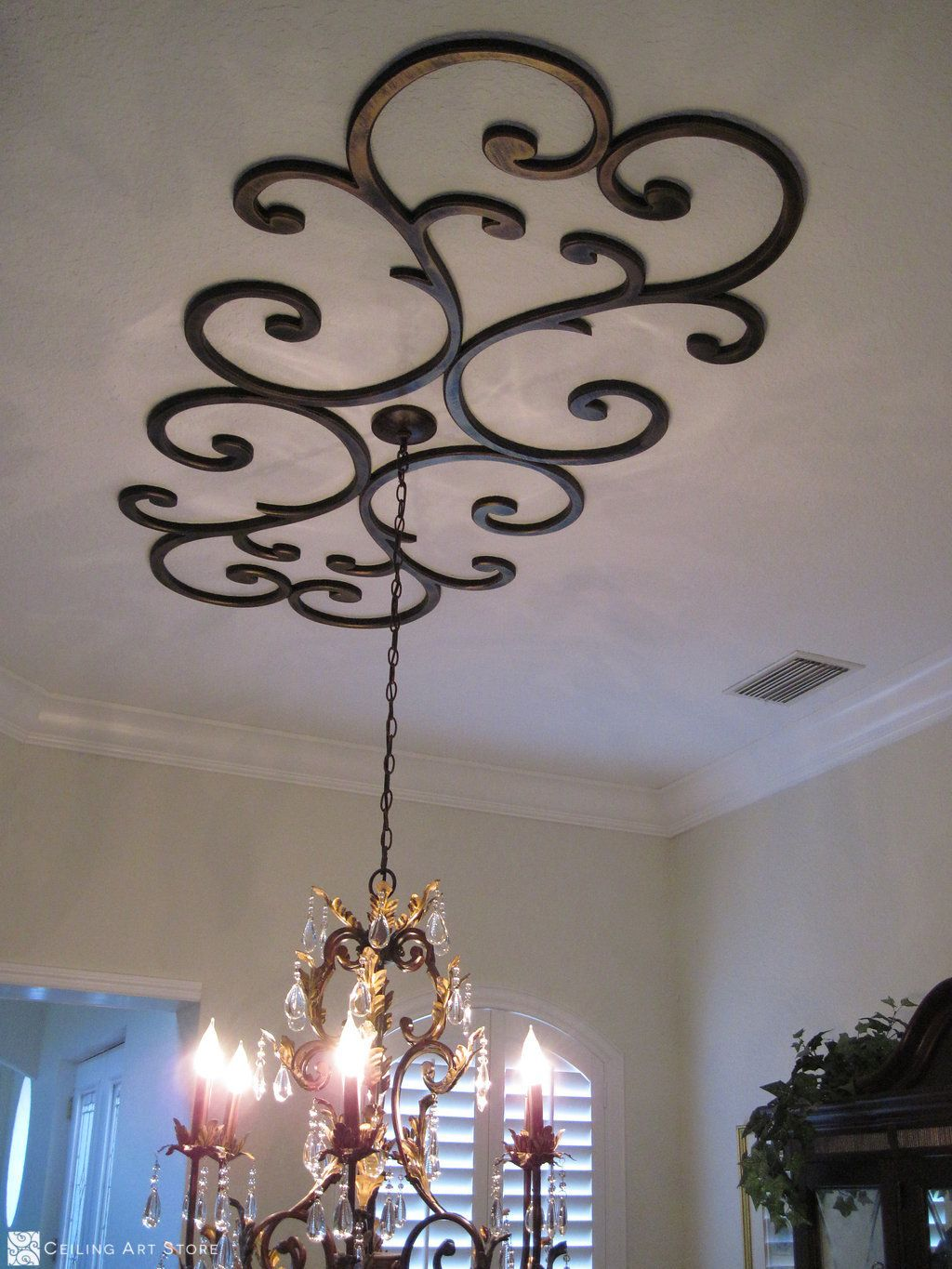 Ceiling Art Faux Iron Faux Plaster Decor By Ceiling Art Store