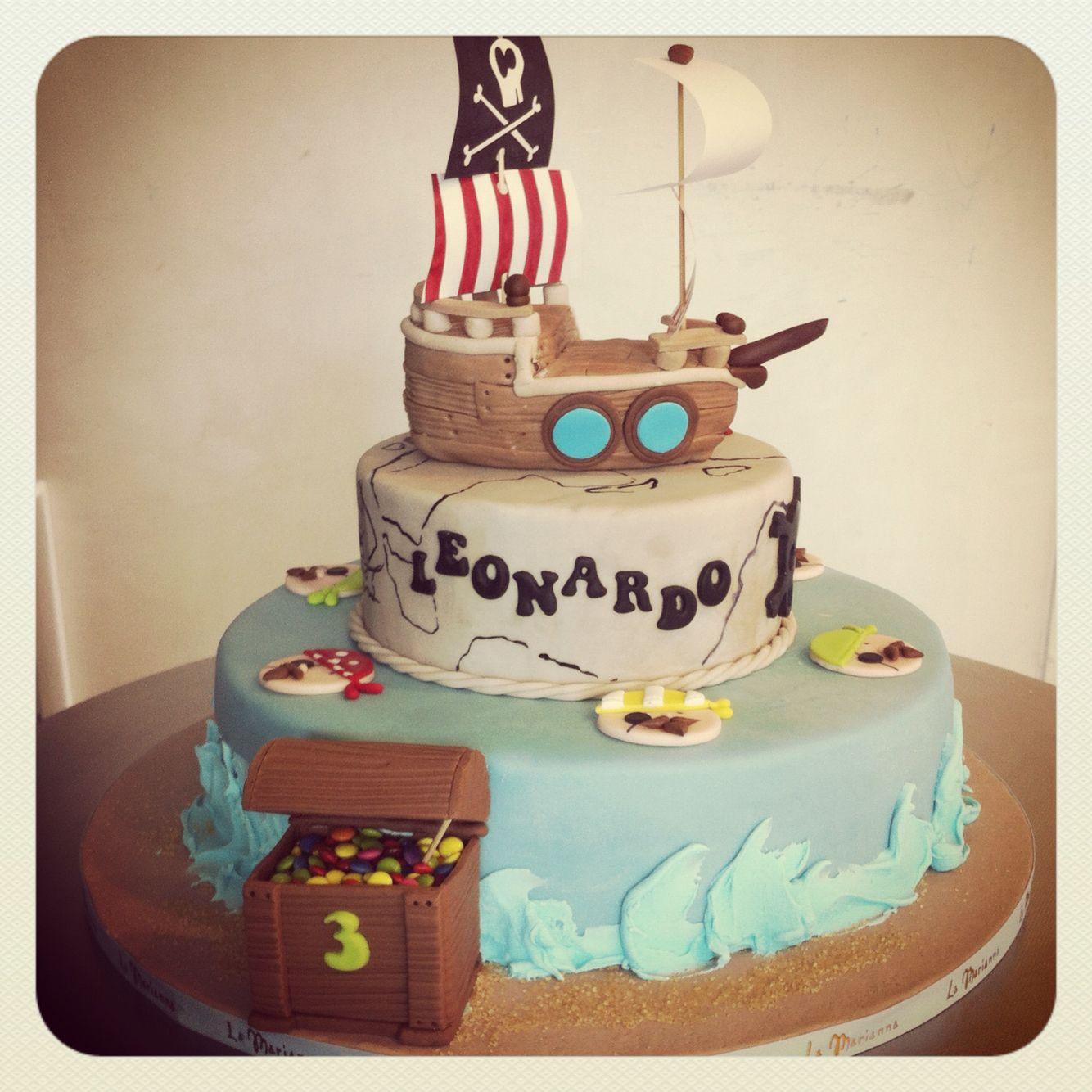Pirati / tesoro / cake / torte per bambini