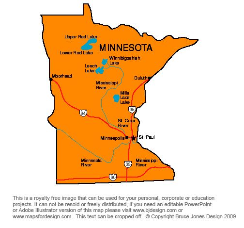 Minnesota Minneapolis royalty free jpg map Eggy Pinterest