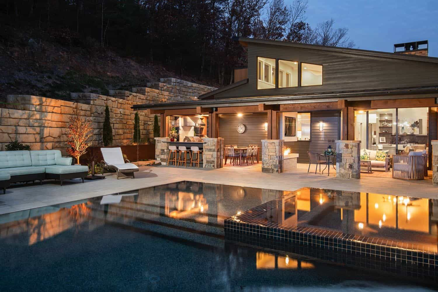 Pin On Mountain Side Homes
