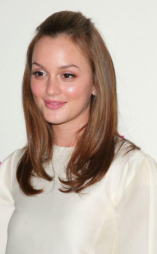 Pin By Hairstyles And Beauty On Celebrity Hairstyles Leighton Meester Hair Celebrity Hairstyles Hair Styles