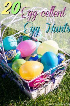 20 egg cellent easter egg hunt ideas easter and egg