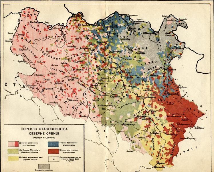 Karta Balkana 1878.Poreklo Stanovnistva Srbije Granice Iz 1878 Linguistic Maps