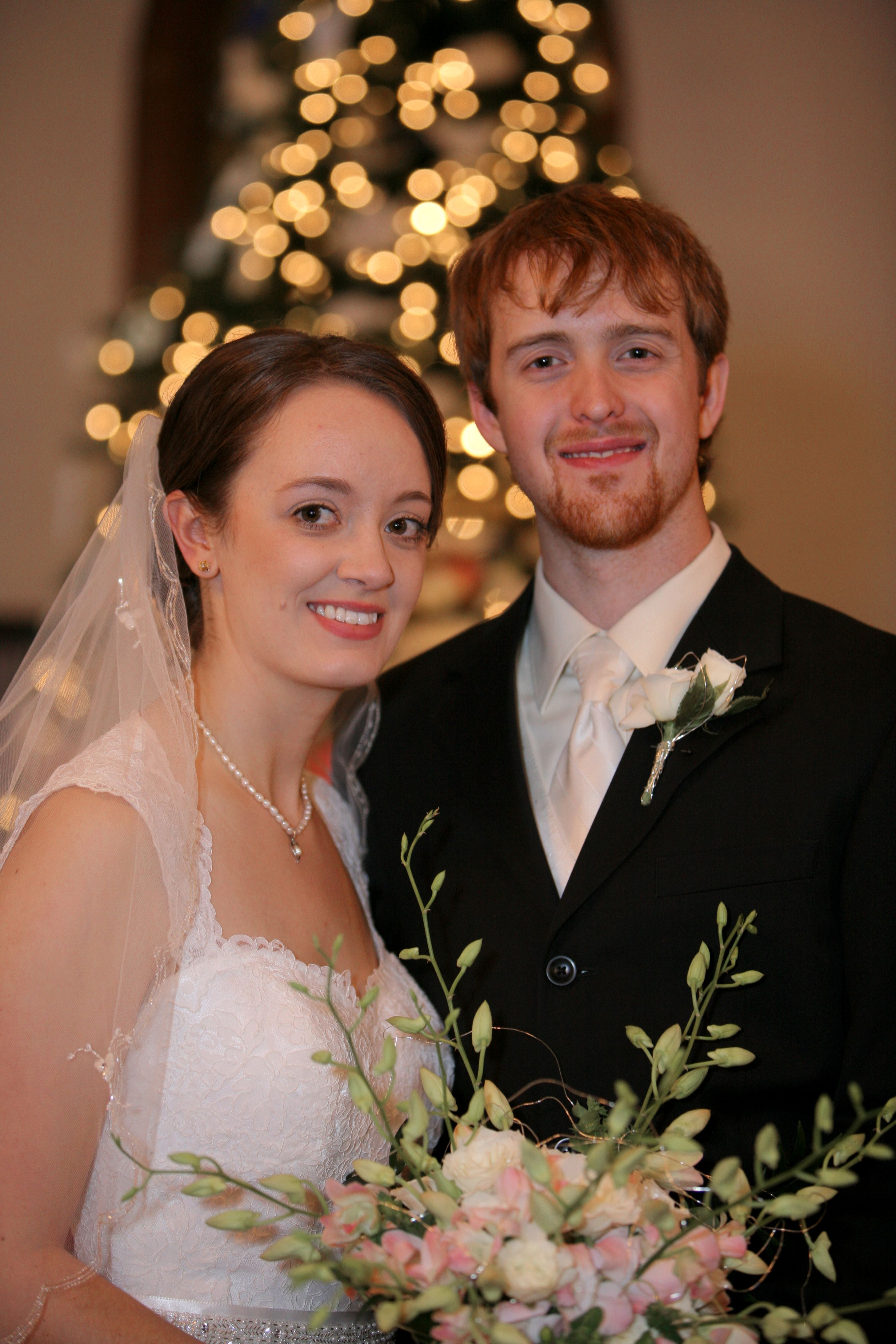 Our daughter AnneMarie (Ria) and her husband Matthew