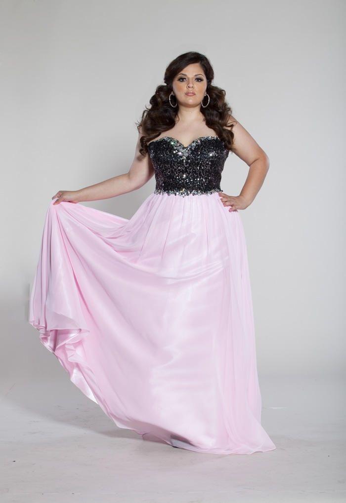 Plus Size Prom Dresses 2013 Sydneys Closet Plus Size Prom Sc7095