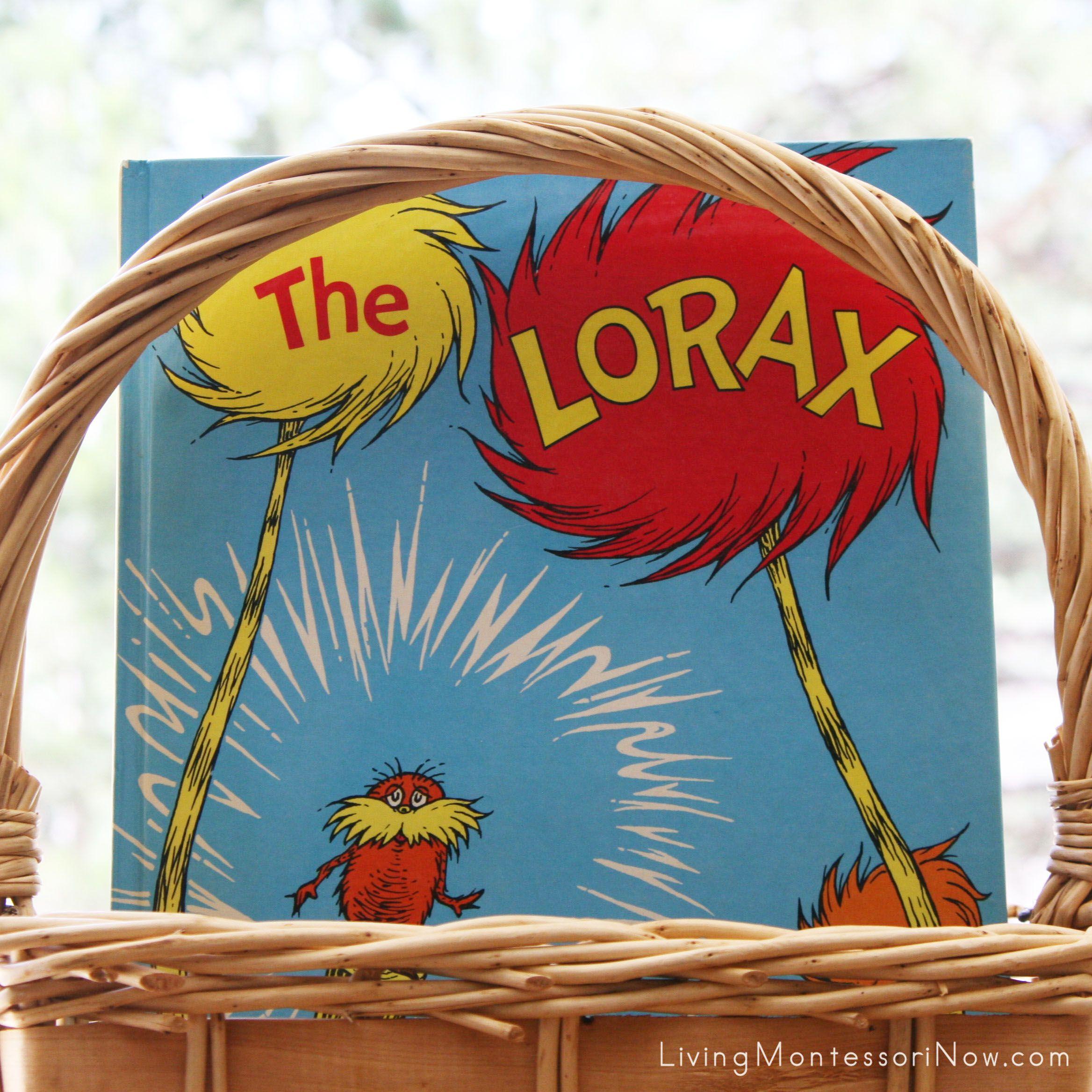 Montessori Inspired Lorax Activities