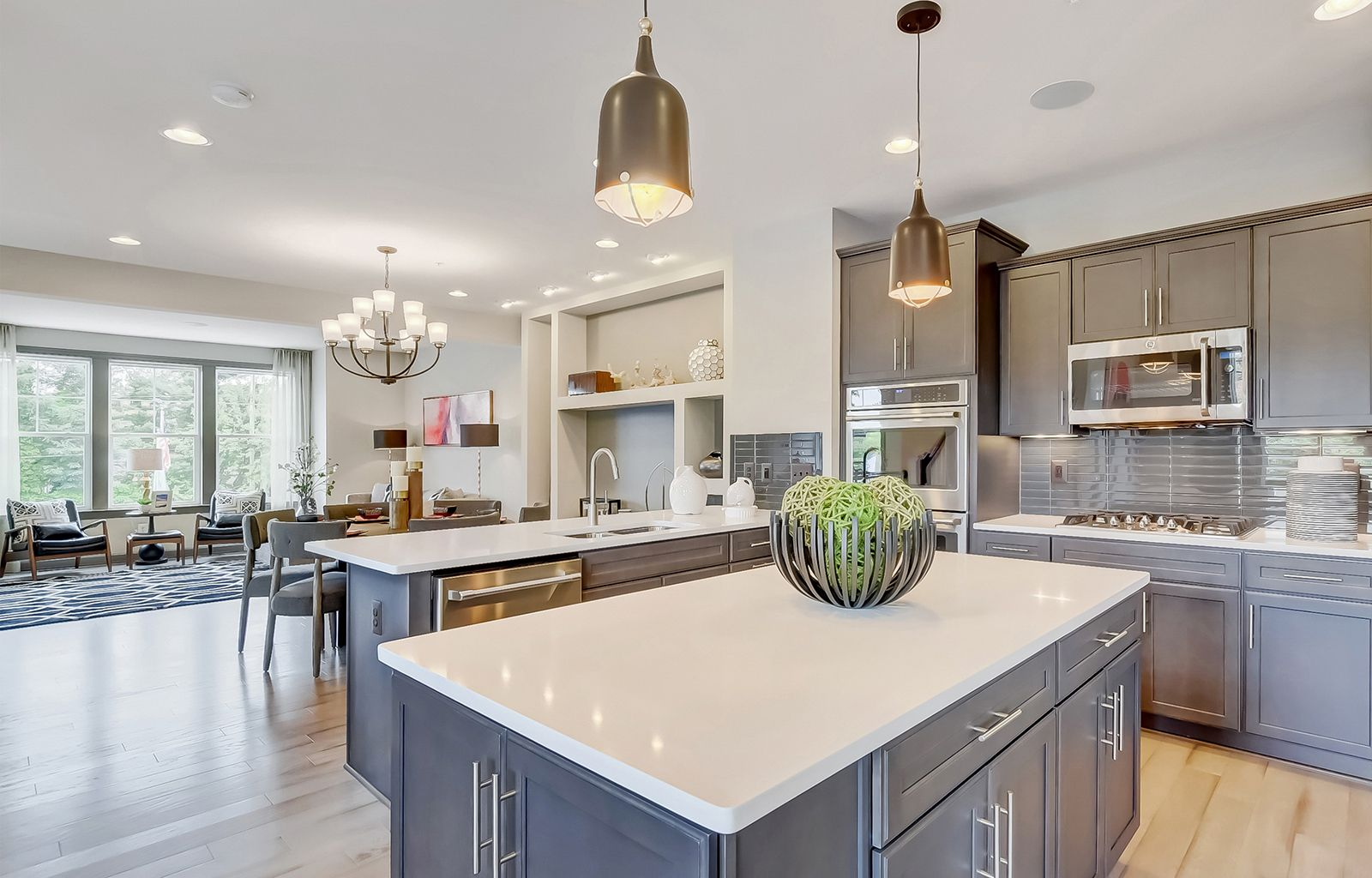 Pin By Marie Wallace On Dream House In 2020 Contemporary Kitchen Home Simple Interior Design