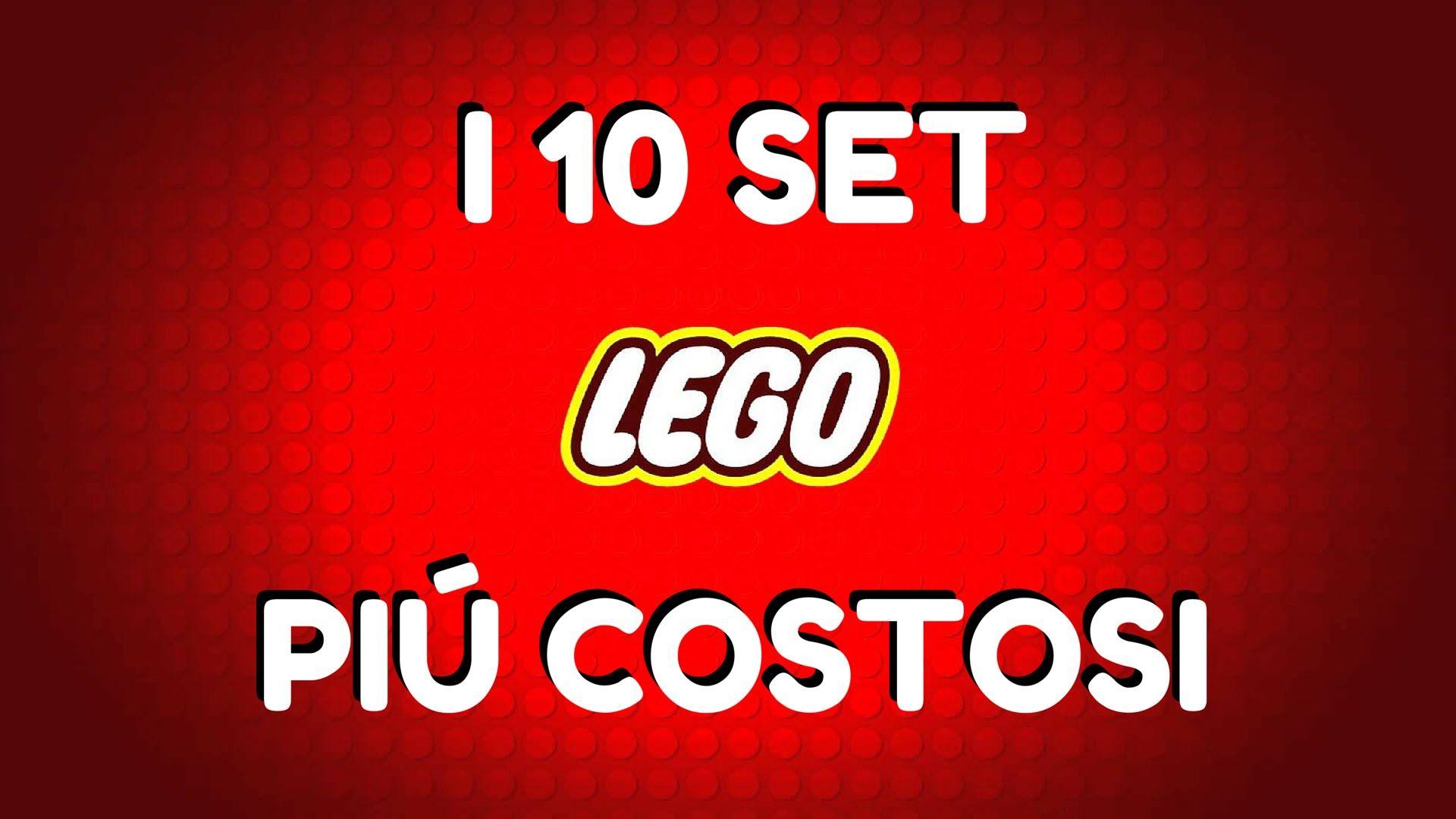 I 10 SET LEGO PIÚ COSTOSI AL MONDO!!!