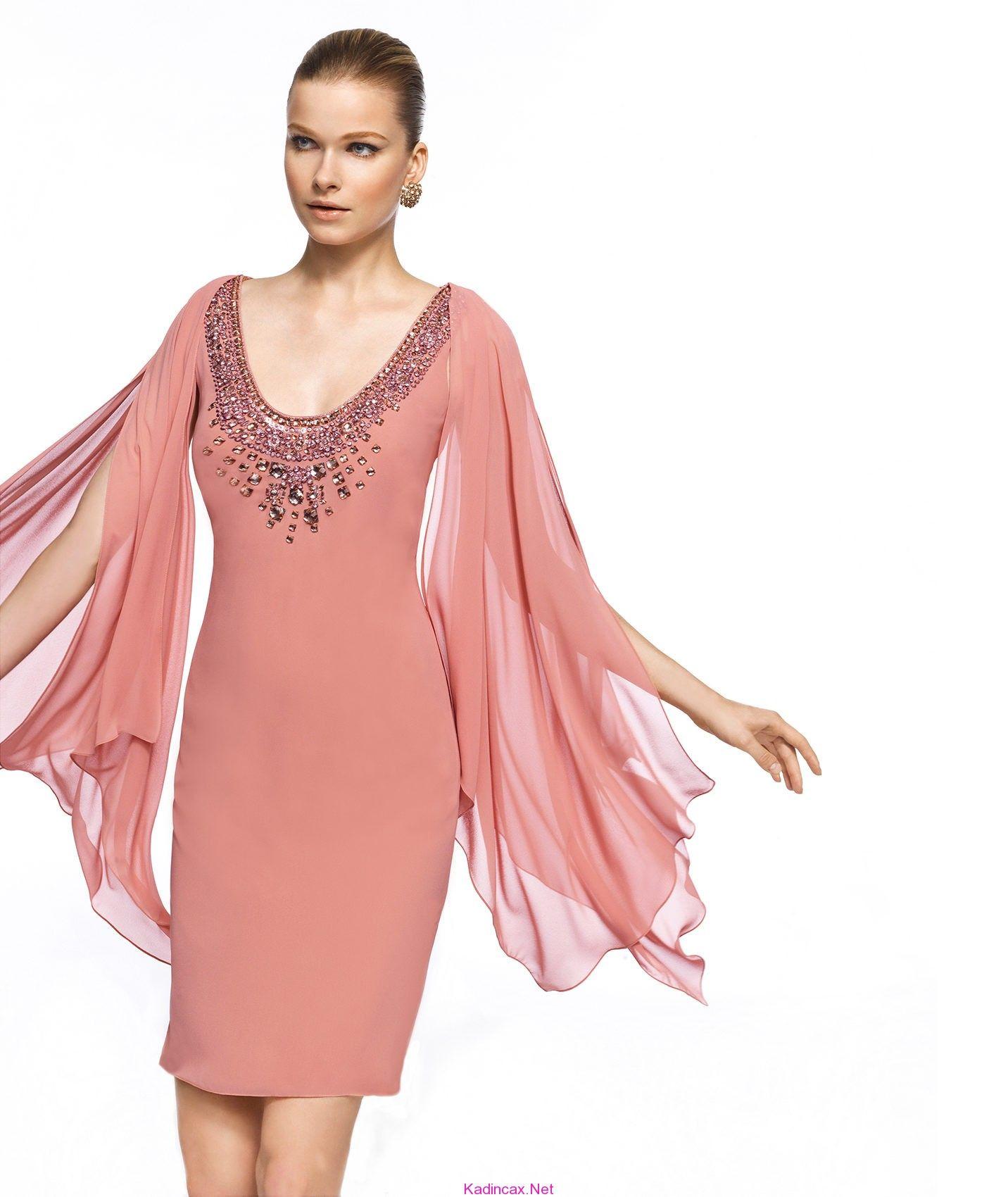 Pronovias-night-Dress-Gece-Elbiseleri-pudra-rengi   vestidos ...