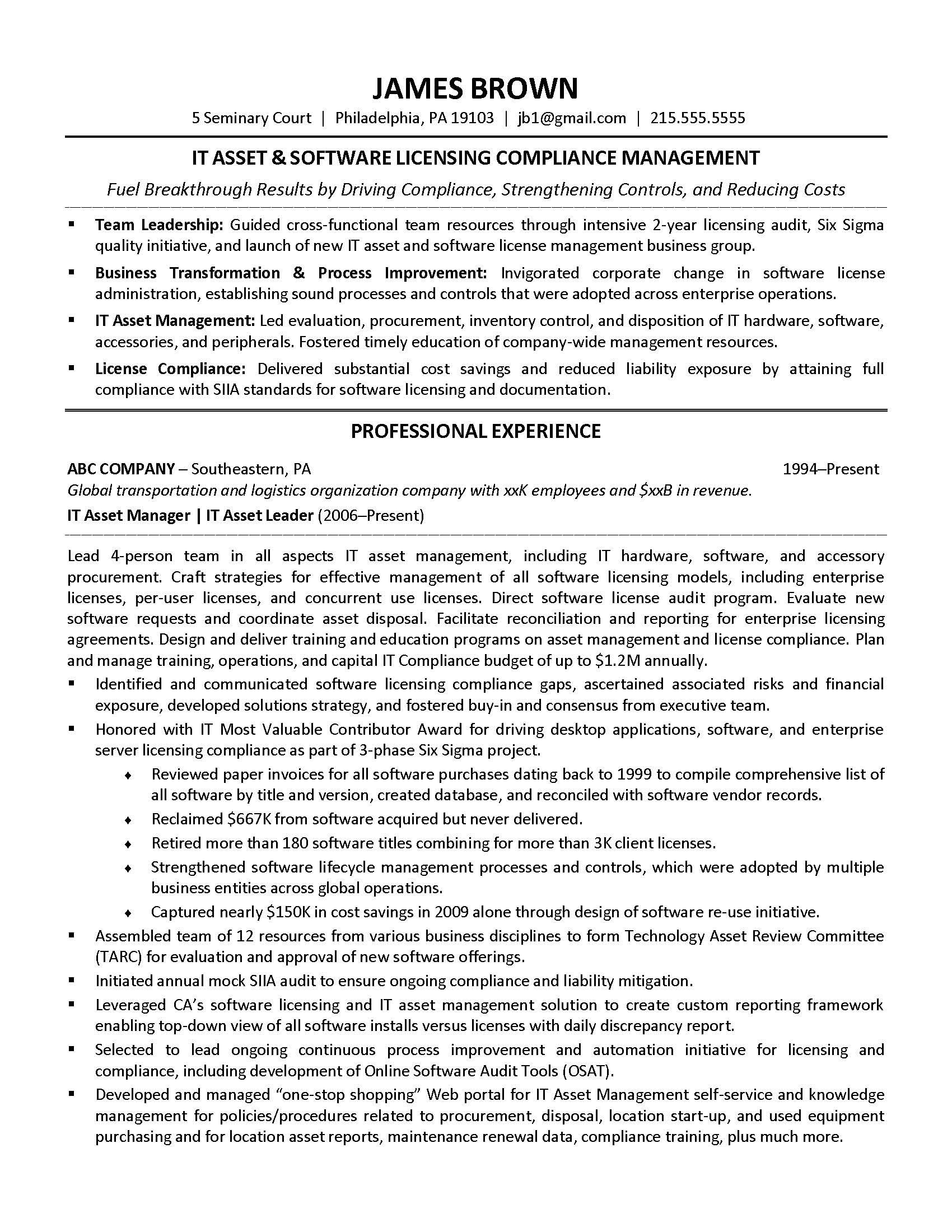 CIOcom IT Resume Makeover Resume advice