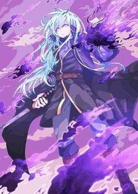 Metal Poster Tensei Shitara