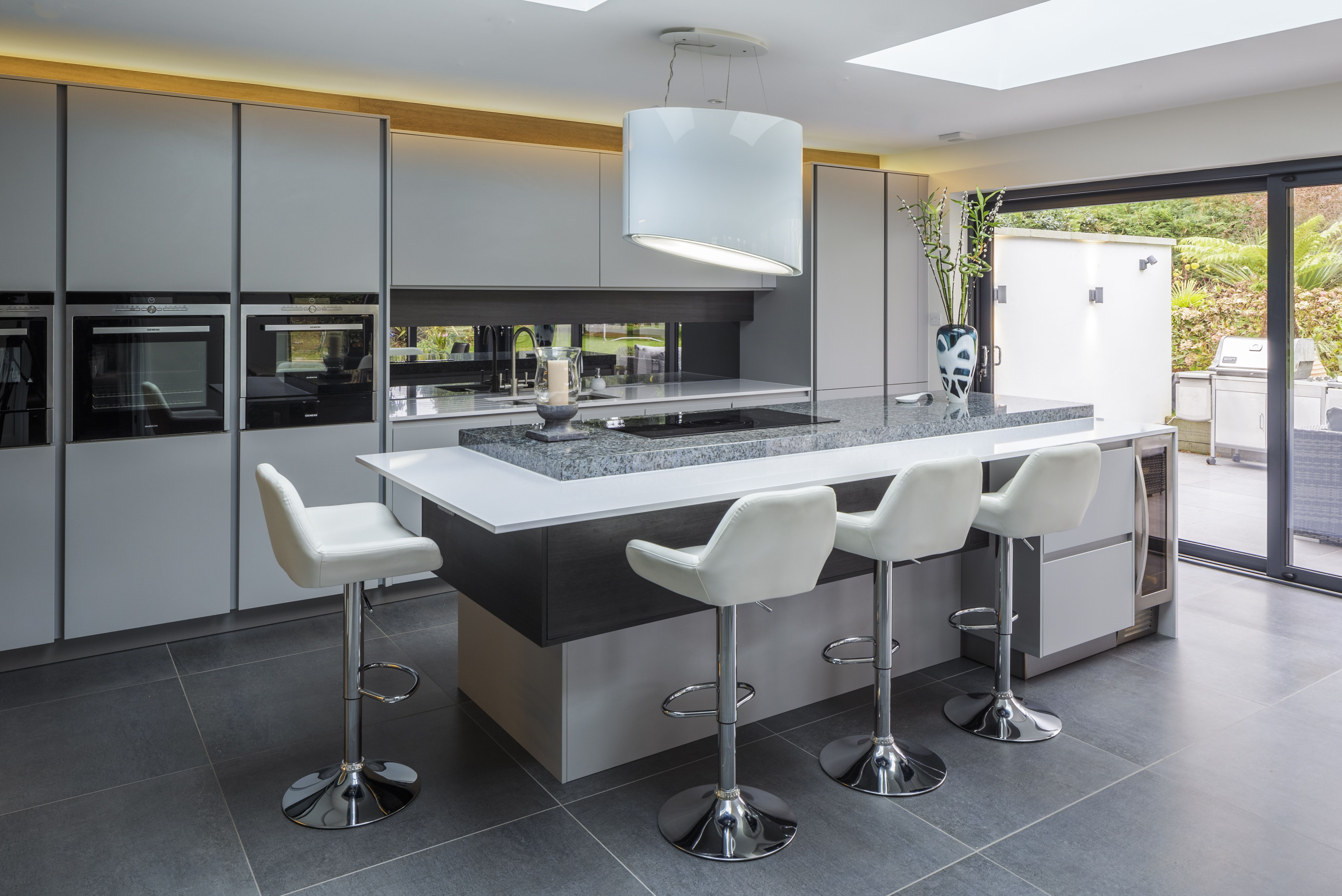 Best Pronorm Y Line Light Grey Kitchen Featured In This Open 400 x 300