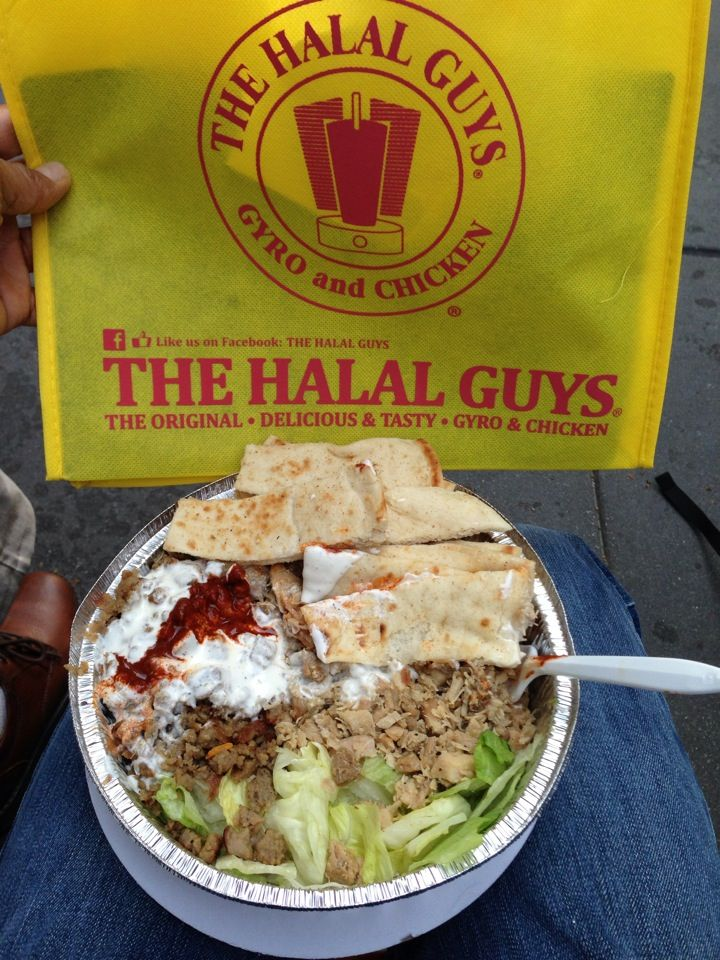 The Halal Guys Halal Recipes Nyc Food Indulgent Food