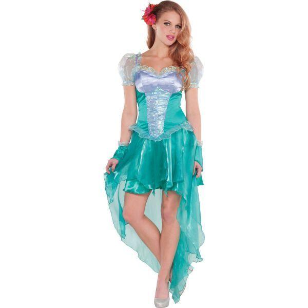ariel dress costume for adults | adult little mermaid ariel