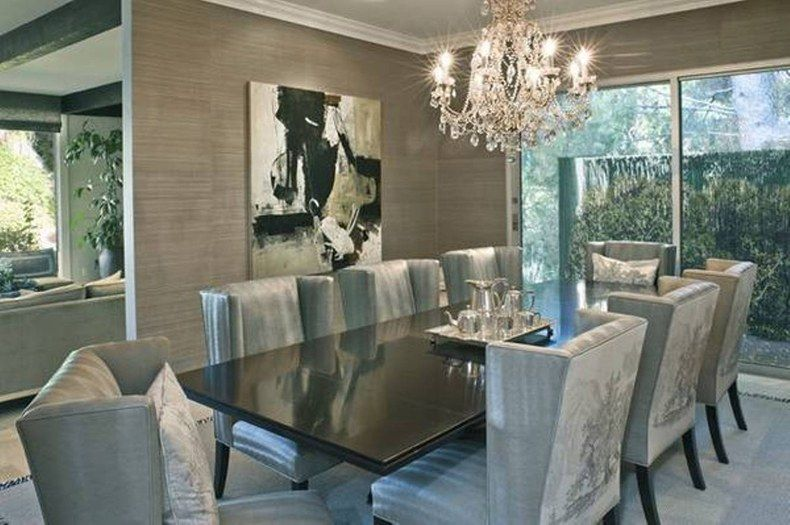 Contemporary Formal Dining Room Furniture My Home Is My