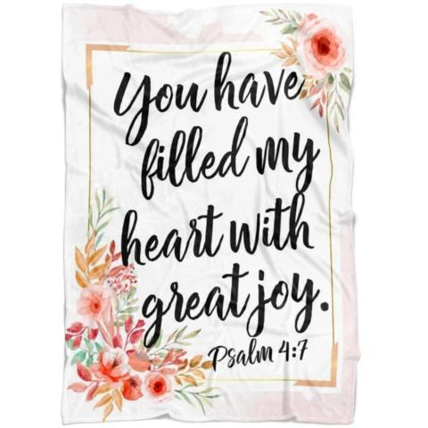 Bible Verse Blankets - Christian Blankets