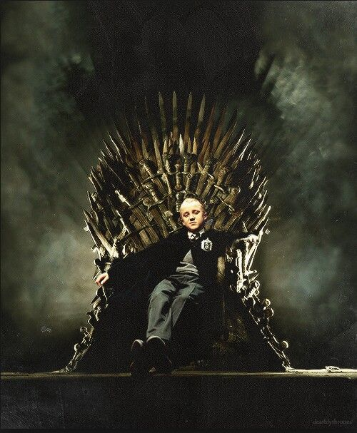 Malfoy sul trono di spade
