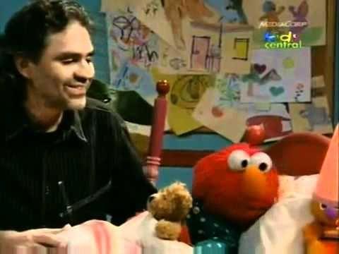 Andrea Bocelli sings Elmo to sleep