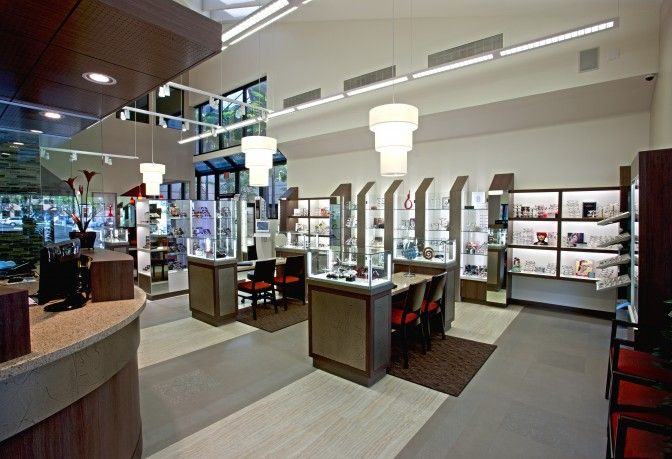 Woodbridge Optometry | Optical Office Design | Barbara Wright Design