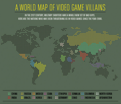 World map of video game villains video games pinterest video world map of video game villains gumiabroncs Image collections