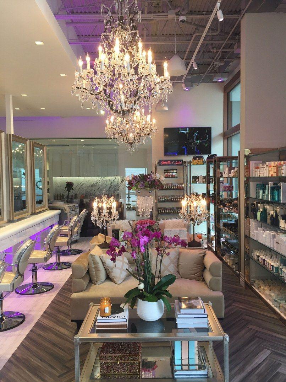 8 New Newport Beach Destinations For Design Aficionados Hair Salon Interior Hair Salon Design Beauty Salon Decor