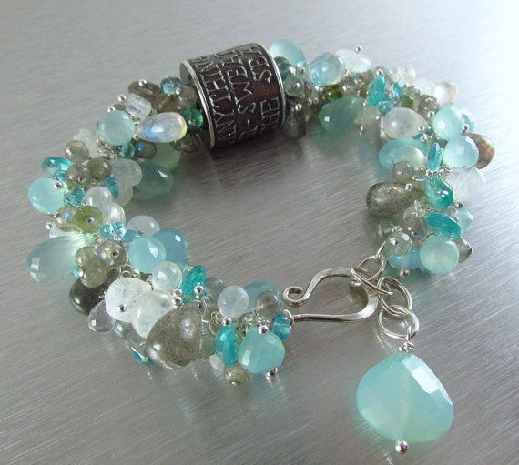 Anne Choi Quote Bead Wire Wrapped Bracelet by SurfAndSand