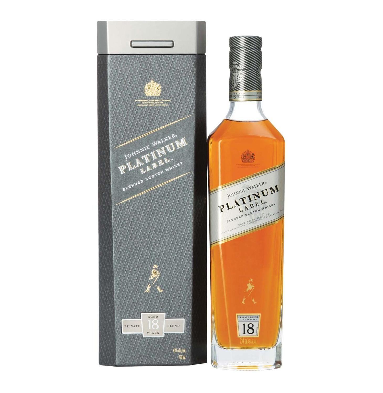 Johnny Walker Platinum Label With Images Johnnie Walker