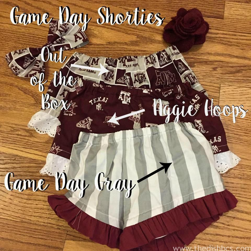 Toddler Game Day Style in Aggieland