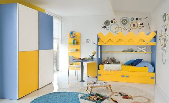 Children's Room Decorating Ideas Photos: Amusing Children's Room Decorating Ideas With Blue Rug Standing Closet At Lovely Children Bedrooms ~ jsdpn.com Kids Room Designs Inspiration