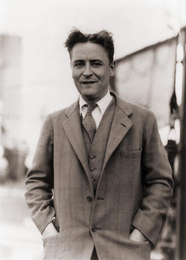 F Scott Fitzgerald 1896 1940 In 1928 Canvas Print Canvas Art By