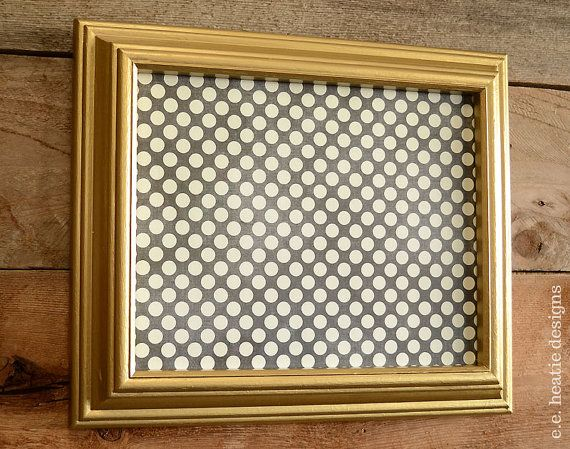 thick gold 8x10 picture frame painted vintage wood frame by eeheatie 2800