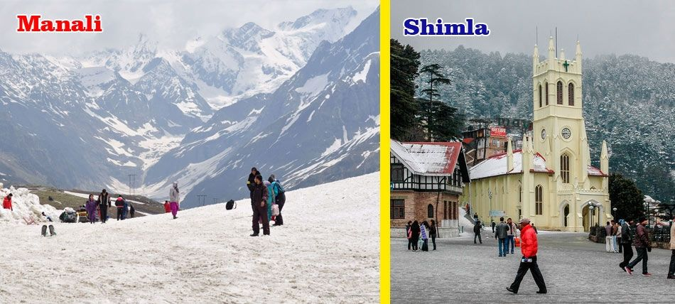 This Is Best Suited Package For 6day Shimla Kullu Manali Tour