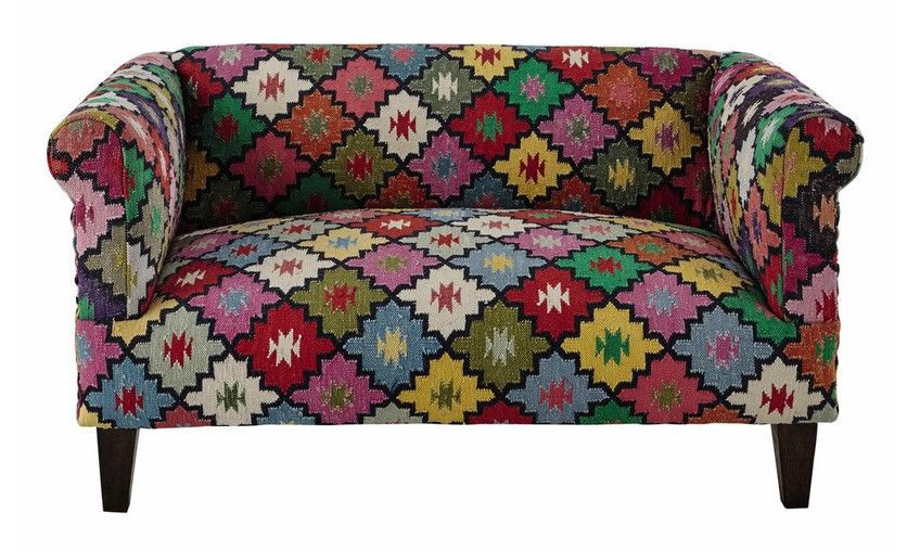 canap places arlequin en tressage kilim multicolore prix canap maisons du monde with chauffeuse. Black Bedroom Furniture Sets. Home Design Ideas
