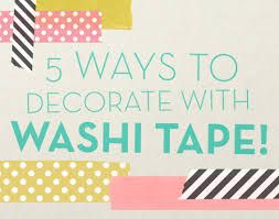 Image result for WASHI TAPES