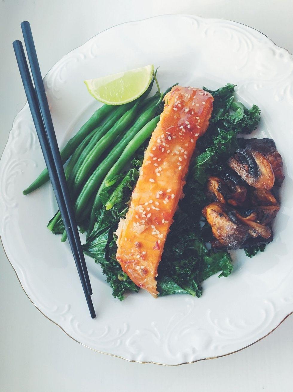 Asian salmon. lainahöyhenissä - Blogi   Lily.fi