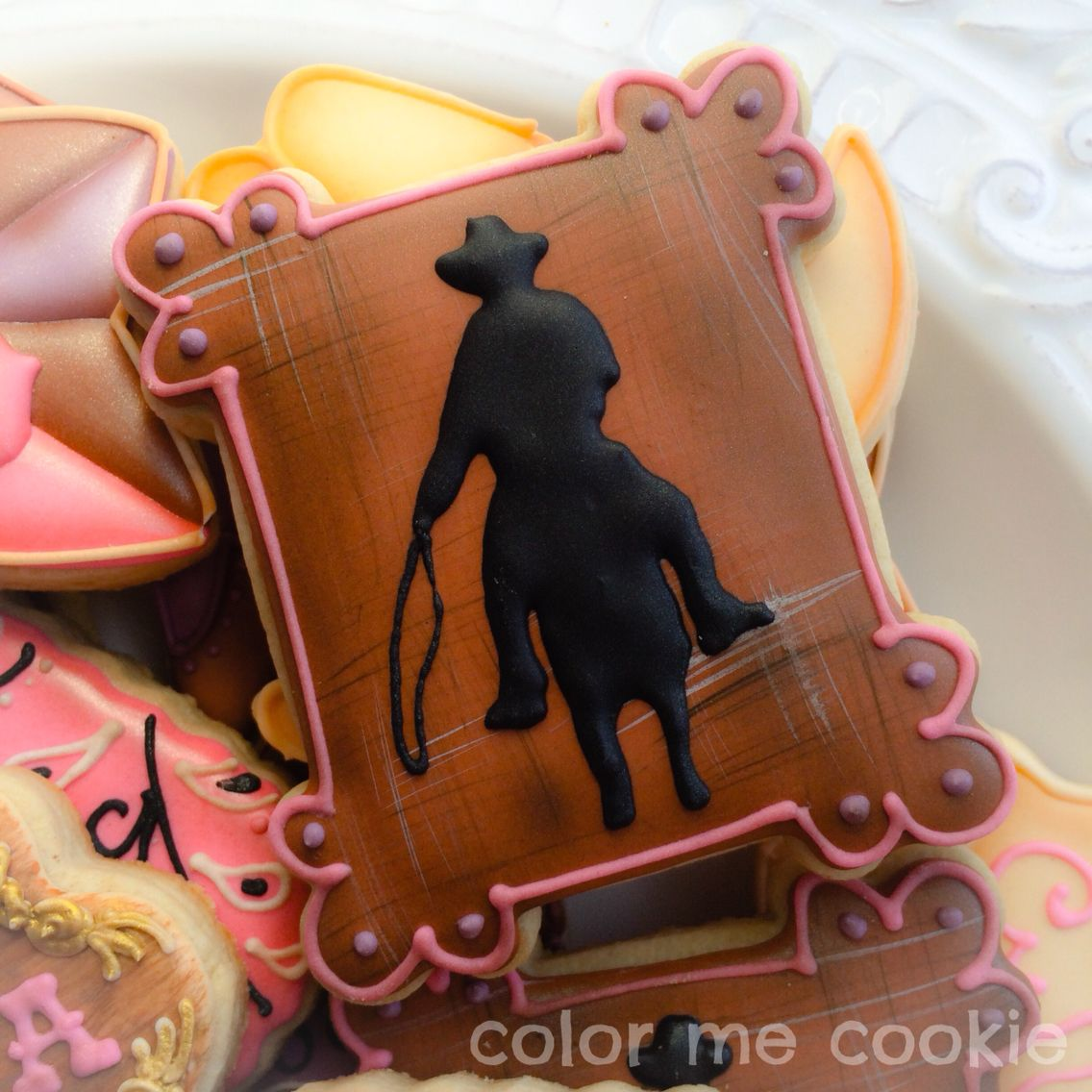 Cowgirl/cowboy cookie