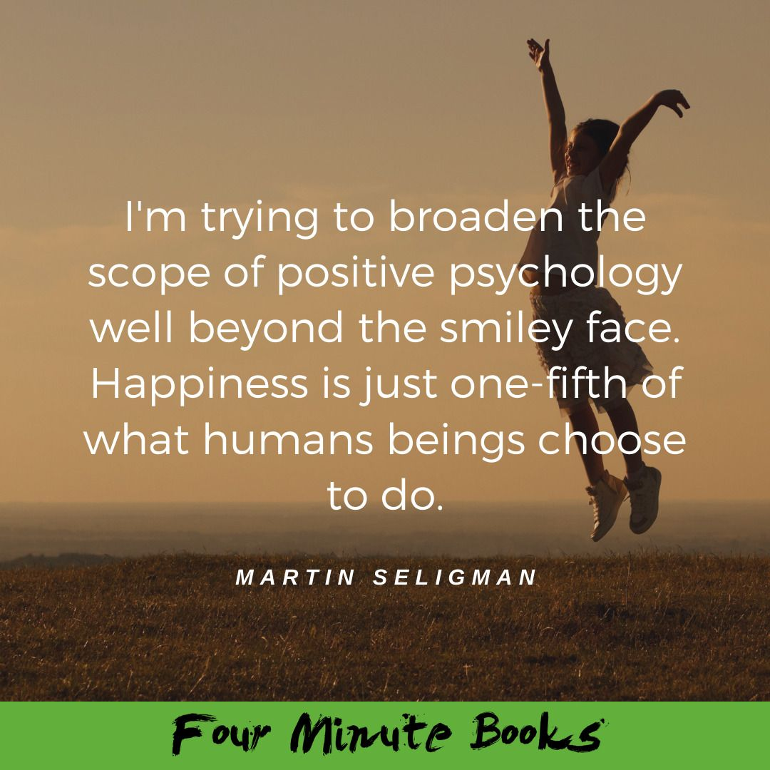 You can create a happier life using a few simple exercises presented in Martin Seligman's book. ðŸ""