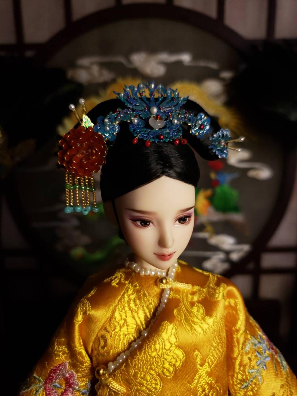 淘宝��e9�m���\�_古装娃娃头饰定制娃头饰现货成品定制古装头饰-淘宝网|Nhà