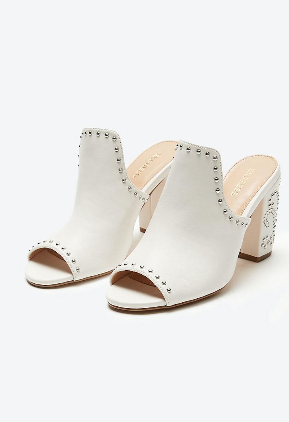 eea20fd44 Studded Western Heeled Sandals